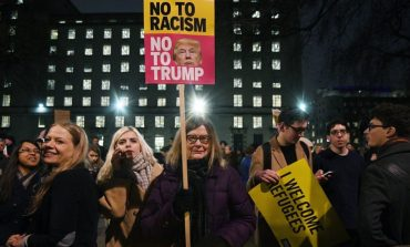 Trump travel ban: Thousands join protests across UK