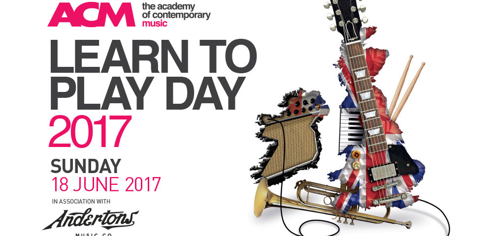 LOWER THAN ATLANTIS DRUMMER JOINS ACM FOR FREE MUSIC LESSONS FOR NATIONAL LEARN TO PLAY DAY