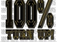 IAMKINGZIION - '100% Turn Up'