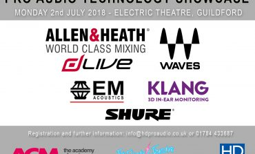 HD PRO AUDIO AND ACM PROFESSIONAL AUDIO TECHNOLOGY SHOWCASE 2ND JULY